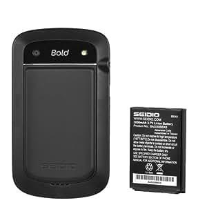 Seidio BACY30BB9900-BK Innocell 3000mAh Extended Life Battery for BlackBerry Bold 9900/9930 - Battery - Retail Packaging - Black
