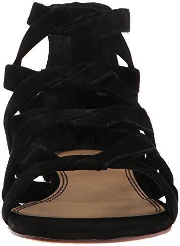 Splendid Flat Sandal Barrett Women''s Black rTwqfrOx