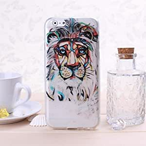 ZCL sold out Lion Pattern TPU Soft Case for iPhone 6