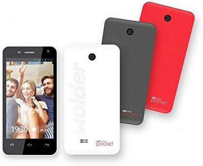 Wolder miSmart Pocket - Smartphone Libre de 4