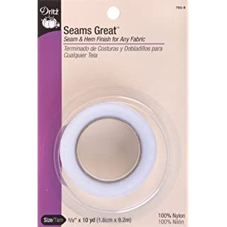 Dritz 790-9 Seams Great, 5/8-Inch x 10-Yards, White