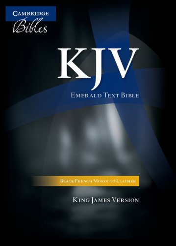 KJV Standard Text Edition (Black French Morocco Leather) ()