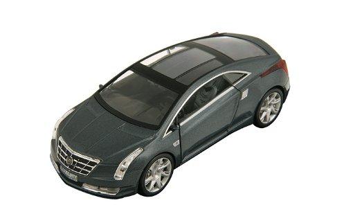 Diecast Wheels 2012 Cadillac Converj Concept Coupe 1:43 Scale - Gray Metallic
