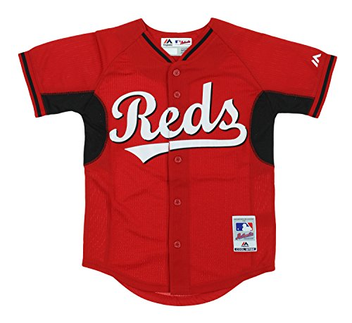 Cincinnati Reds MLB Big Boys Cool Base Batting Practice Jersey, Red