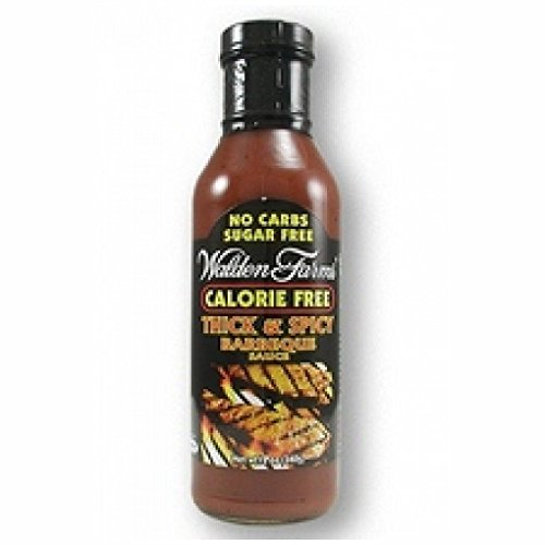 Walden Farms Thick & Spicy Barbecue Sauce 12 oz (Pack of 3)
