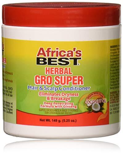 Africas Best Gro Herbal Super 5.25 Ounce Jar (155ml)