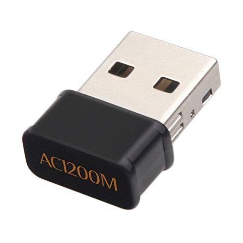Luerme AC1200 Wi-Fi USB Adapter 802.11AC NANO Wireless WiFi Receiver RTL8812BU Dual Band 2.4G/5G -
