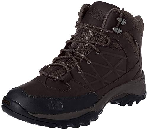 The North Face Mens Storm Mid WP Leather Coffee Brown/Coffee Brown Boot 11 D - Medium