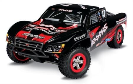 Traxxas Slash: 1/16 Scale Pro 4wd Short Course Racing Truck with TQ 2.4 GHz Radio, Mike Jenkins