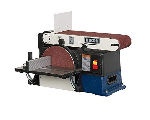 RIKON 50-120 110-Volt 6 x 48-Inch Cast Iron, Steel Belt and