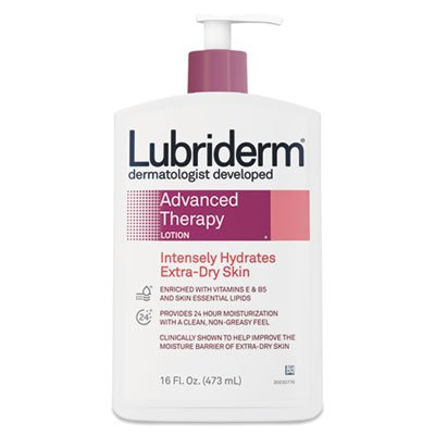 lubriderm-48322-advanced-therapy-moisturizing-hand-body-lotion-pump-bottle-16oz-volume-81-height-116