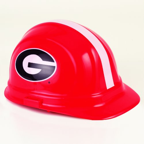 NCAA Georgia Bulldogs Hard Hat, One Size ()