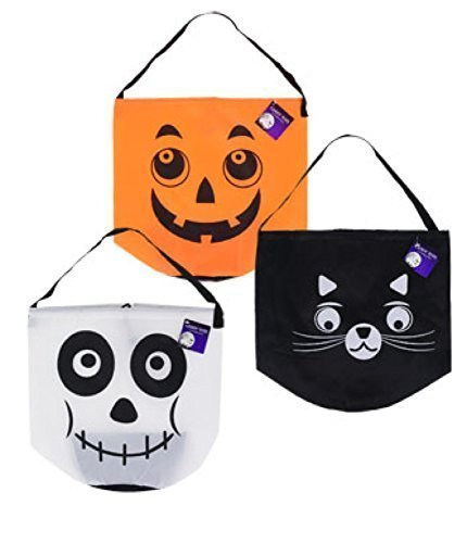 Halloween Candy Trick or Treat Tote Bag (Colors Vary)