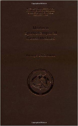 modern spatiotemporal geostatistics