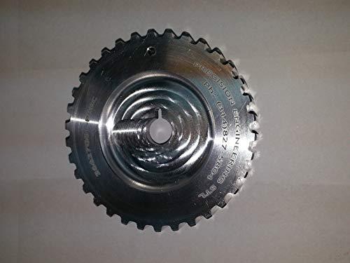 Precision Engineering Stl LLC Billet Aluminum EZGO Timing Pulley 26627G01 Timing Gear Driven Pulley, Camshaft Gear. EH29C EH292C EH35C EH352C
