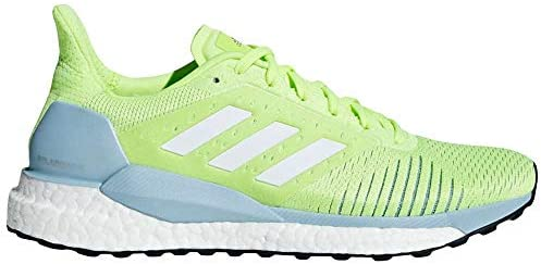 adidas Women's Solar Glide ST Running Shoes Hi Res Yellow