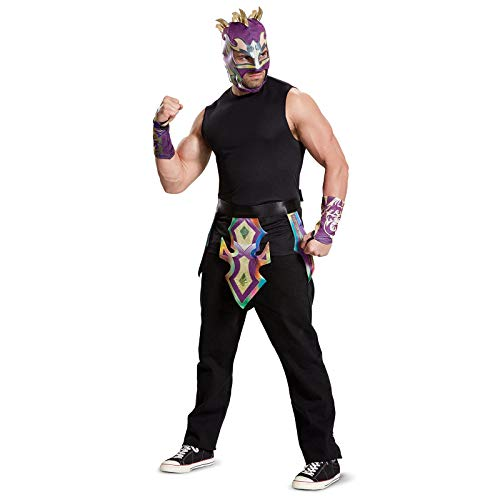 Disguise Men's Kalisto Adult WWE Costume Kit, Multi, One Size