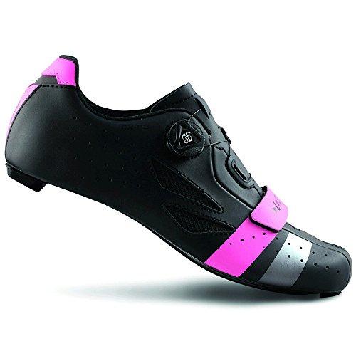 rose argent route en noir rose argent Lake carbone CX218 Chaussures noir 6A7wYqqF