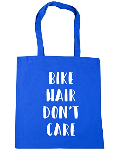 Bolsa 't 42 Care Pelo Hippowarehouse Don nbsp;cm Bicicleta Aciano Azul De Tote nbsp;cm X38 nbsp;litros 10 Playa Compras A1xR0