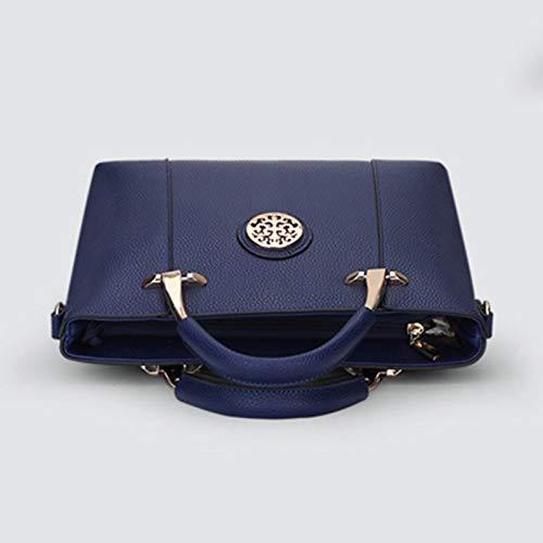 Mujeres Conjunto Body Pu Piezas Azul Rojo Bolsos Set De Bolso Violeta 2 Cremallera Las Cielo Qztg Mochilas Hombro Bluecross xTYXRIwn