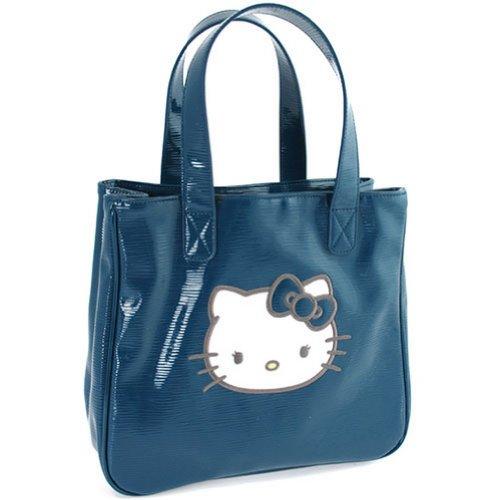 al de Bolso para Hello Azul Poliéster mujer azul Kitty hombro wx6qT