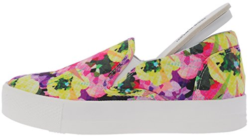 Sneakers Pink Flower White 30 on Slip C7 Platform Denim Maxstar xZqwTAC