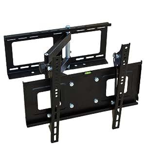 "TecTake 400292 - Soporte de pared para televisores de hasta 42"", negro"