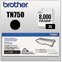 Brother TN750 High-Yield Toner Cartridge, Black