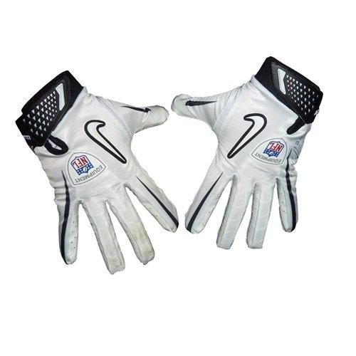 (Percy Harvin Autographed Minnesota Vikings Pair of Game Used Gloves - 2010 Season)