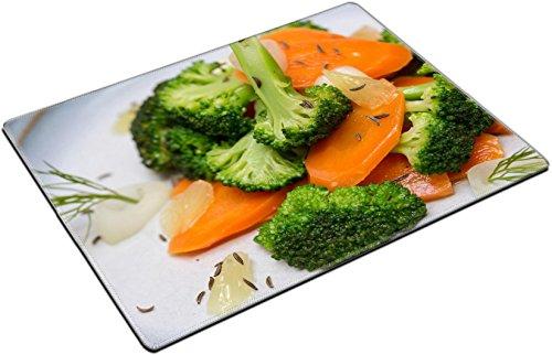 MSD Place Mat Non-Slip Natural Rubber Desk Pads design 19355260 Broccoli carrot salad with rosemary and vinaigrette (Rosemary Vinaigrette)