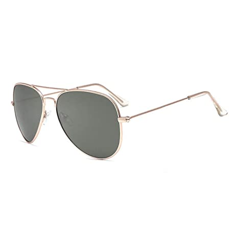 FUZHISI Gafas de Sol Gafas de Sol polarizadas Hombres Piloto ...