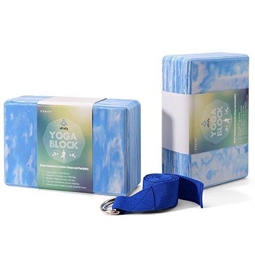 yoga blocks light blue - 3
