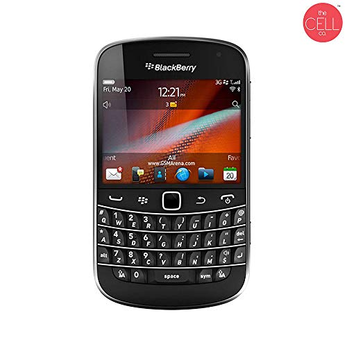 BlackBerry Bold 9900 QWERTY Keypad Factory Unlocked Black (Manufacturer Refurbished from BlackBerry)