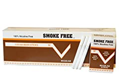 Smoke Free Selected from the tender outer layer of the Cocoa Bean.100% tobacco and nicotine free