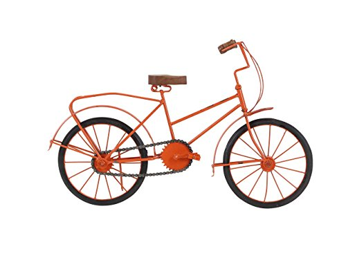 Deco 79 27357 Metal and Wood Bicycle Sculpture, 12
