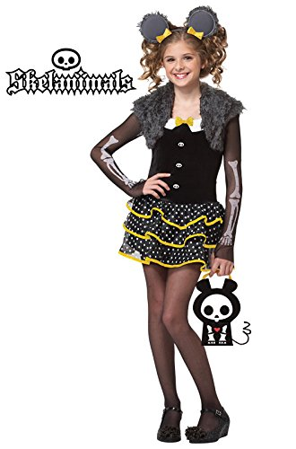 Skelanimals Costume (California Costumes Skelanimals Matt The Mouse Costume,)