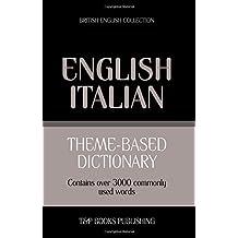 Theme-based dictionary British English-Italian - 3000 words