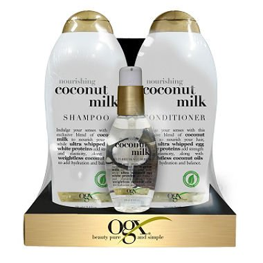 OGX Nourishing Coconut Milk Value Pack (pack of 6)