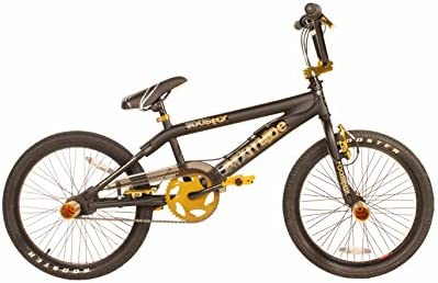Rooster - Bicicleta BMX freestyle, color beige: Amazon.es ...