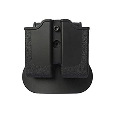 IMI Defense Z1600 Paddle Light / Laser Roto Holster + Double Magazine Pouch For Glock 17/19/22/23/25/31/32 Handgun Gen 4 Pistol Compatible