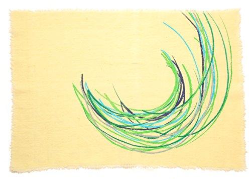 Gitika Goyal Home Crayons on a Table Mat, 17'' by Gitika Goyal Home