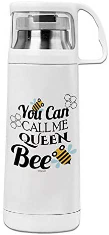 Easy Carry Leak Proof Durable, Eco-friendly and Healthy Thermos Cup Queen bee Safe No-toxic Mugs