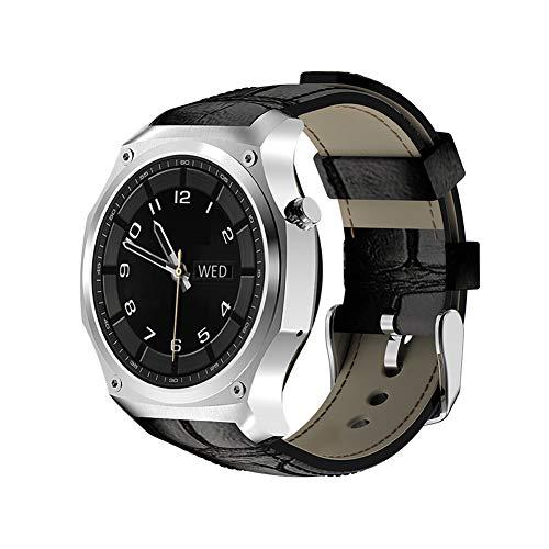 JIHUIA Actividad GPS Rastreador Relojes, Color Toque ...