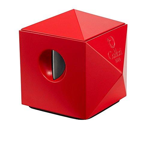 Colibri Quasar Tabletop Cigar Cutter - Matte Red (Best Tabletop Cigar Cutter)