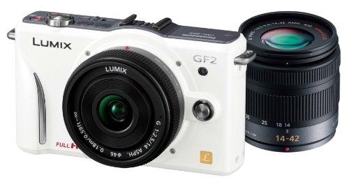 Panasonic ミラーレス一眼カメラ GF2 ダブルレンズキット