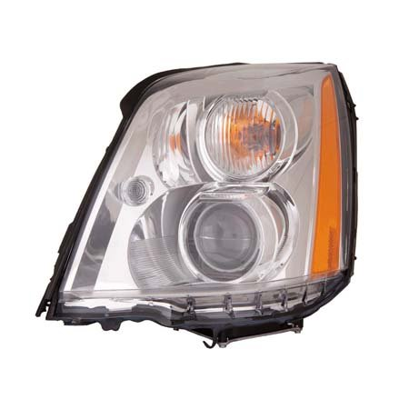 Cadillac DTS 2006-2011 Headlight Assembly HID Type Driver Side