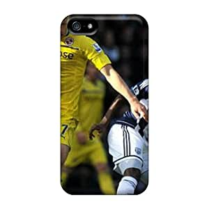 Durable Defender Case For Iphone 5/5s Tpu Cover(pavel Pogrebnyak Russian National Team Player On The Field)