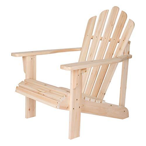 (Shine Company Inc. 4611N Westport Adirondack Chair, Natural)