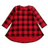 Happy Kido Little Kids Baby Girls Long Sleeve Dress