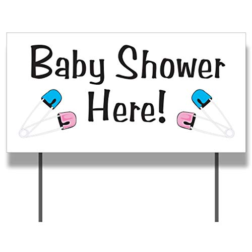VictoryStore Yard Sign Outdoor Lawn Decorations: Baby Shower